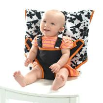 MY LITTLE SEAT Travel High Chair - Coco Snow - The Original Portable High Chair For Travel - Travel High Chairs For Babies And Toddlers - Baby Seats For Sitting Up - Travel High Chair