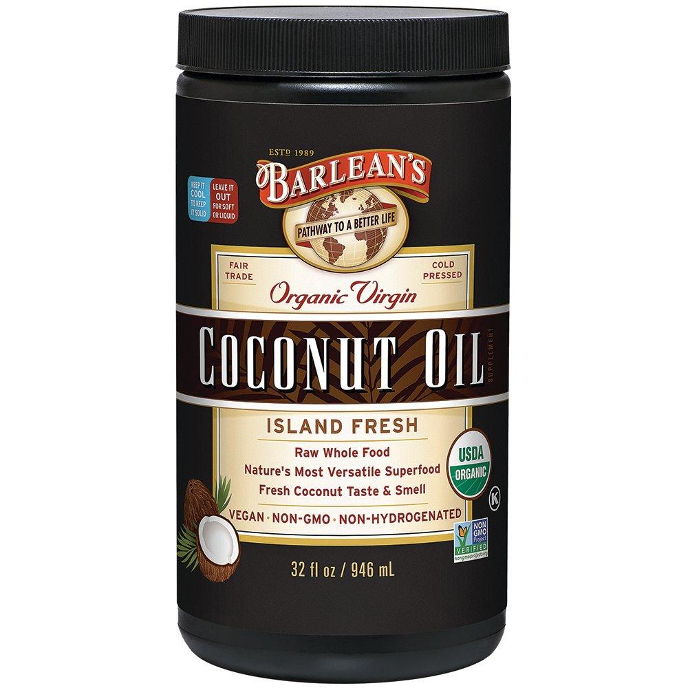 Barlean's Organic, Virgin Coconut Oil 32 Ounce (705875000437)