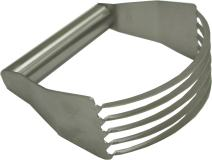 Winco 3 X 5 Blade Pastry Blender, Stainless Steel
