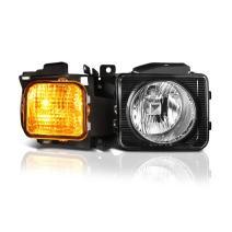 VIPMOTOZ Chrome Bezel OE-Style Headlight Headlamp Assembly For 2006-2010 Hummer H3 & H3T, Passenger Side