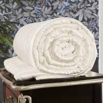 LilySilk All Season Silk Comforter with Silk Shell 100% Silk Duvet Twin 67x87 Inches