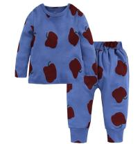 LOOLY Unisex Baby Boys Girls Fruit Pajamas 2 Piece Pjs Set Cotton Sleepwear