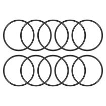 11//16 ID 90A Durometer Buna-N 1//8 Width 15//16 OD Pack of 100 Black 209 O-Ring