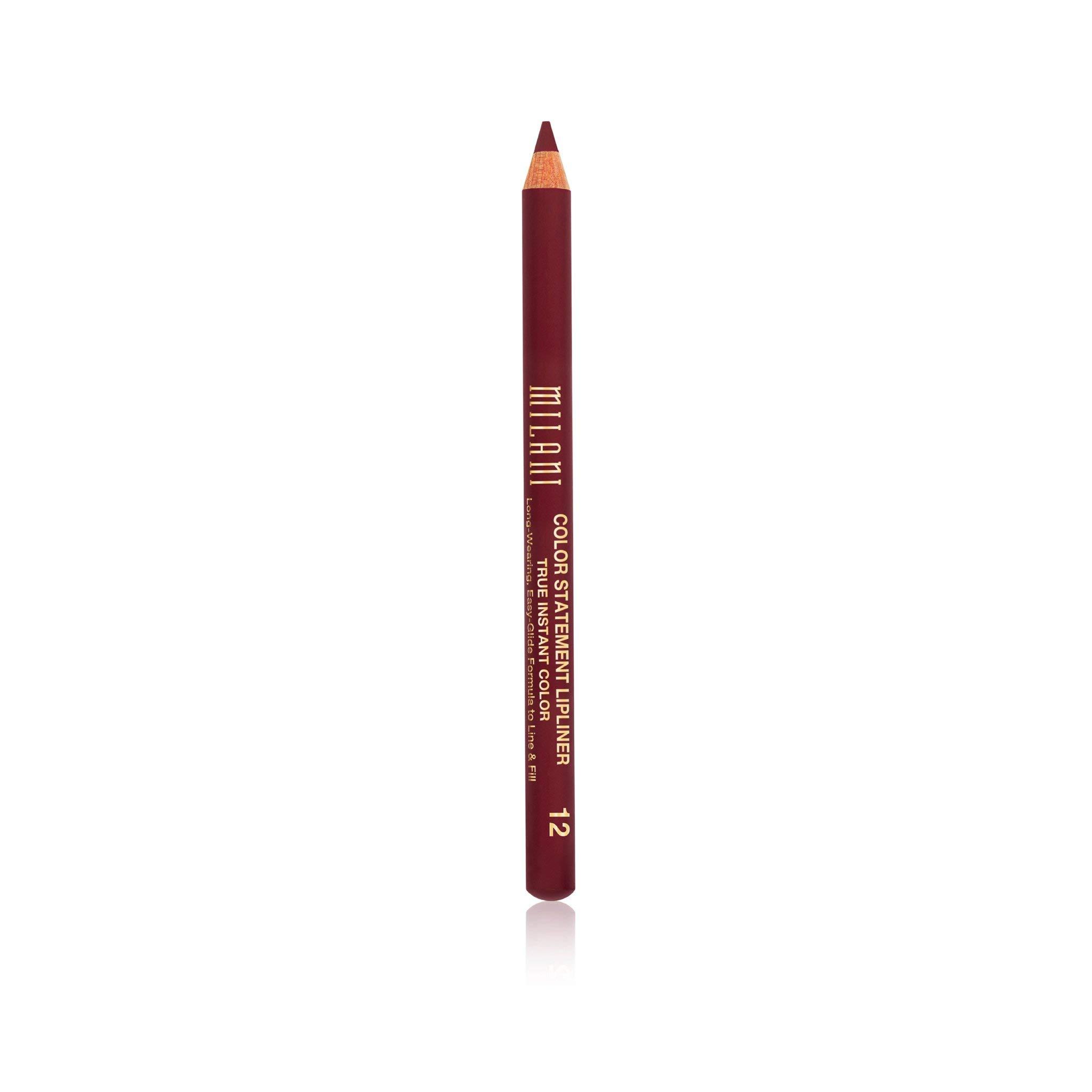 Milani Color Statement Lipliner - Bordeaux (0.04 Ounce) Cruelty-Free Lip Pencil to Define, Shape & Fill Lips