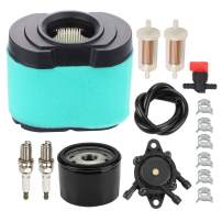 Savior 792105 Air Filter 792303 Pre Cleaner 696854 Oil Filter 808656 Fuel Pump for 276890 4233 5405 MIU11515 GY21057 16-27 HP V-Twin Tractor