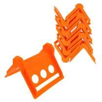 BISupply Cargo Edge Protectors 10 Pack Orange - Corner Protector Cargo Strap Protectors, Corner Strap Protector