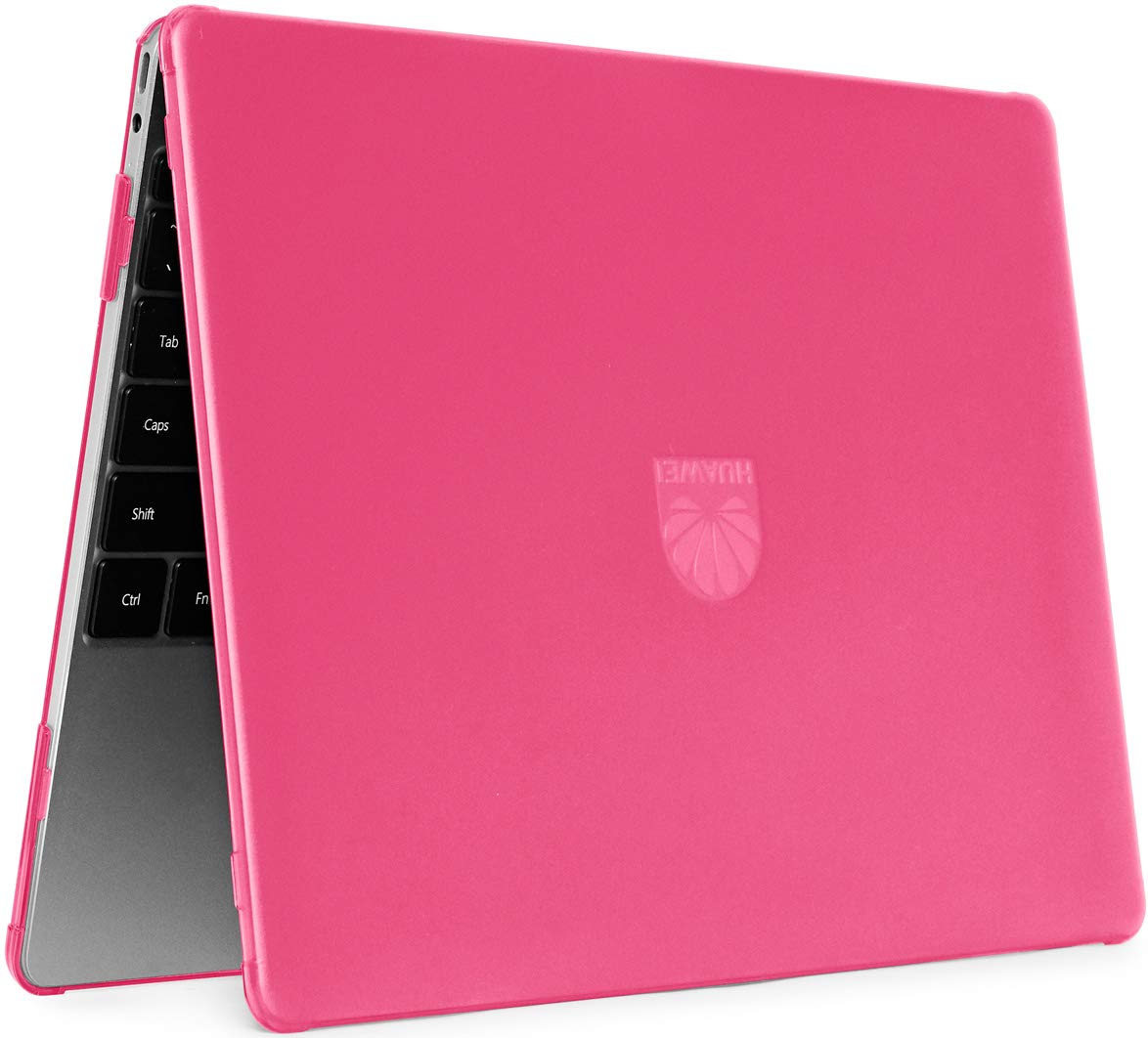"""mCover Hard Shell Case for Late-2018 13"""" Huawei MateBook 13 Series Laptop (HW-MateBook13 Pink)"""