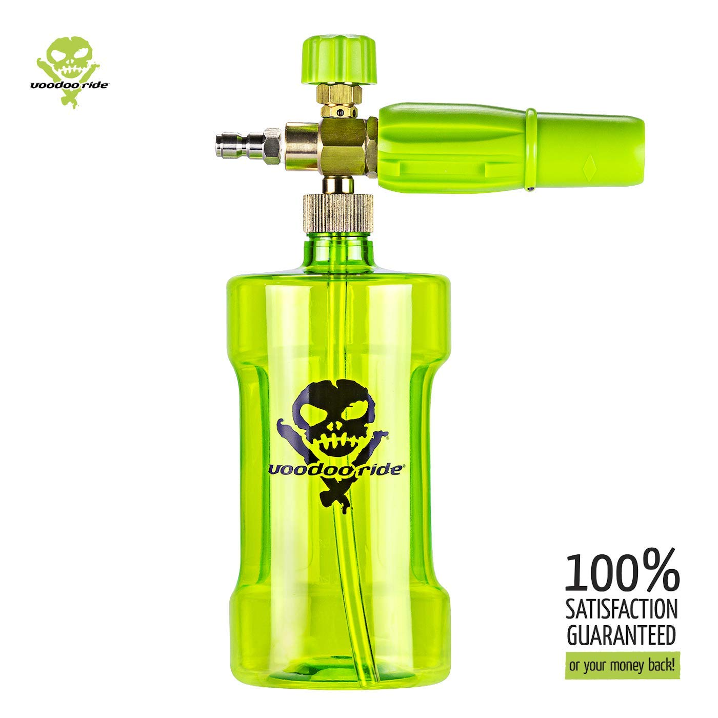 """Voodoo Ride VR77FC Power Pressure Washer Foam Cannon Gun with Adjustable Sprayer and Soap Intake Valve for High Pressure Washing 