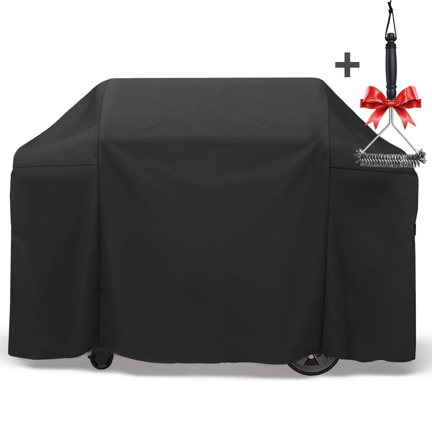 SHINESTAR 65 Inch Durable BBQ Cover, Thick PVC Oxford, Waterproof and Windproof, Universal for 4-5 Burner Grill