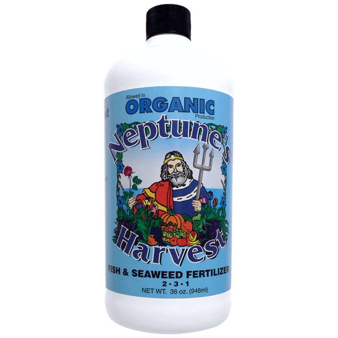 Neptune's Harvest Organic Hydrolized Fish & Seaweed Fertilizer 36 0z