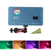 FalconEyes F7 Pocketlite 12W RGB LED Mini Pocket On Camera Light with Special-Effect Scenario Mode, Magnet Adsorbing Funtion, Built in Rechargeable Battery