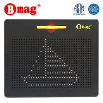 BMAG Magnetic Drawing Tablet, Educational Free Flay Doodle Board Toys (Black, Large)