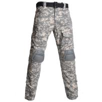 HARGLESMAN Men's Tactical Military Pants Amry Uniforms Combat Trousers and with Knee Pads