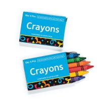 SmileMakers Six-Pack Crayon Boxes - Prizes 48 per Pack