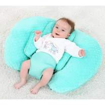 KAKIBLIN Breastfeeding Pillow, Multifunctional Baby Feeding Support Pillow Nursing Pillow Baby Pillow for Breast Suitable for 0-12 Months Newborn, Green