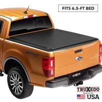"TruXedo Lo Pro Soft Roll Up Truck Bed Tonneau Cover | 545801 | fits 2007-20 Toyota Tundra w/Track System 6'6"" bed"
