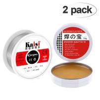 Crazepony 60-40 Tin Lead Rosin Core Solder Soldering Wire (0.6mm) 0.11lbs(50g) + Solder Flux Tin (10g) for Electrical Solderding and DIY