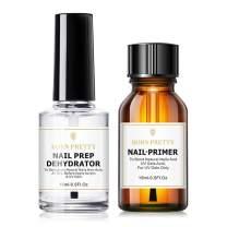 BORN PRETTY Acrylic Nail Acid Free Nail-Primer Pro Bond Nail Prep Natural Dehydrate Bond Primer, Nail Protein Bond for Acrylic Powder and Gel Nail Polish 15ml/0.50fl.oz