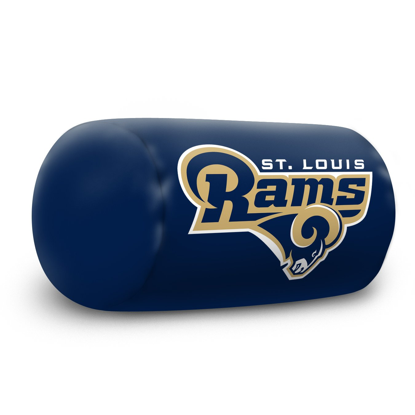 """Officially Licensed NFL """"Bolster"""" Pillow, 12-Inch, Multi Color"""