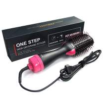 Professional infrared negative ion hair dryer comb straight hair curly hair comb Hair care/styling tools