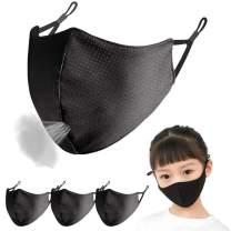 Adjustable Kids Face Mask - Breathable Comfort Exercise Face Mask, Machine Washable, Face Masks for Children 3-9 Youth