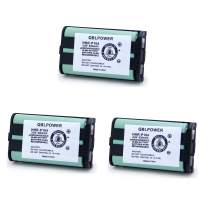QBLPOWER 3.6V 830mAh Ni-MH HHR-P104 HHRP104 HHR-P104A Type 29 Cordless Phone Battery Replacement Compatible with Panasonic KX-TGA520M KX-FG6550 KX-FPG391 KX-TG2388B KX-TG2396 KX-TG2300 (3 Pack)