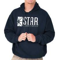 Star Labs Comic Book Superhero Nerdy Geeky Hoodie
