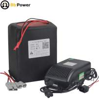 60V 20AH/28AH/30AH/35AH Ebike Battery 60V Li-ion / LiFeO4 Battery Pack for Electric Bike Bicycle Scooter with 5A Charger 50A BMS Fit for 1000W / 1500W / 2000W Motor (60V 30AH Li-ion)