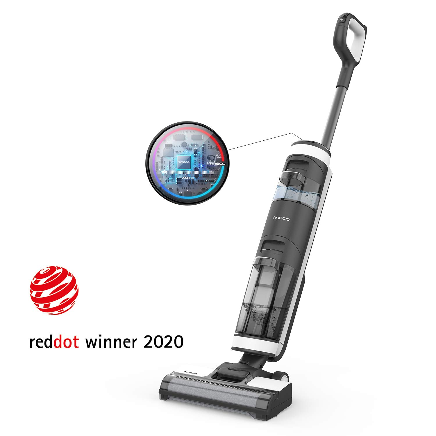 Tineco Floor ONE S3 Smart Cordless Wet Dry Vacuum Cleaner, Lightweight & Powerful Multi-Surface Hard Floor Cleaning