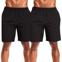 CAMEL CROWN Mens Running Shorts Quick Dry Lightweight Athletic Workout Shorts with Pockets for Trail Gym Training Active