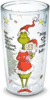Tervis 1197218 Dr. Seuss-Maybe Christmas Grinch Insulated Tumbler with Wrap, 16oz, Clear