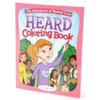 BIBLE BELLES Heard Children's Coloring Book Adventures of Rooney Cruz Series Coloring Book - Inspirational Christian Coloring Book Featuring Story Art and Bible Verses, Kids Coloring Book