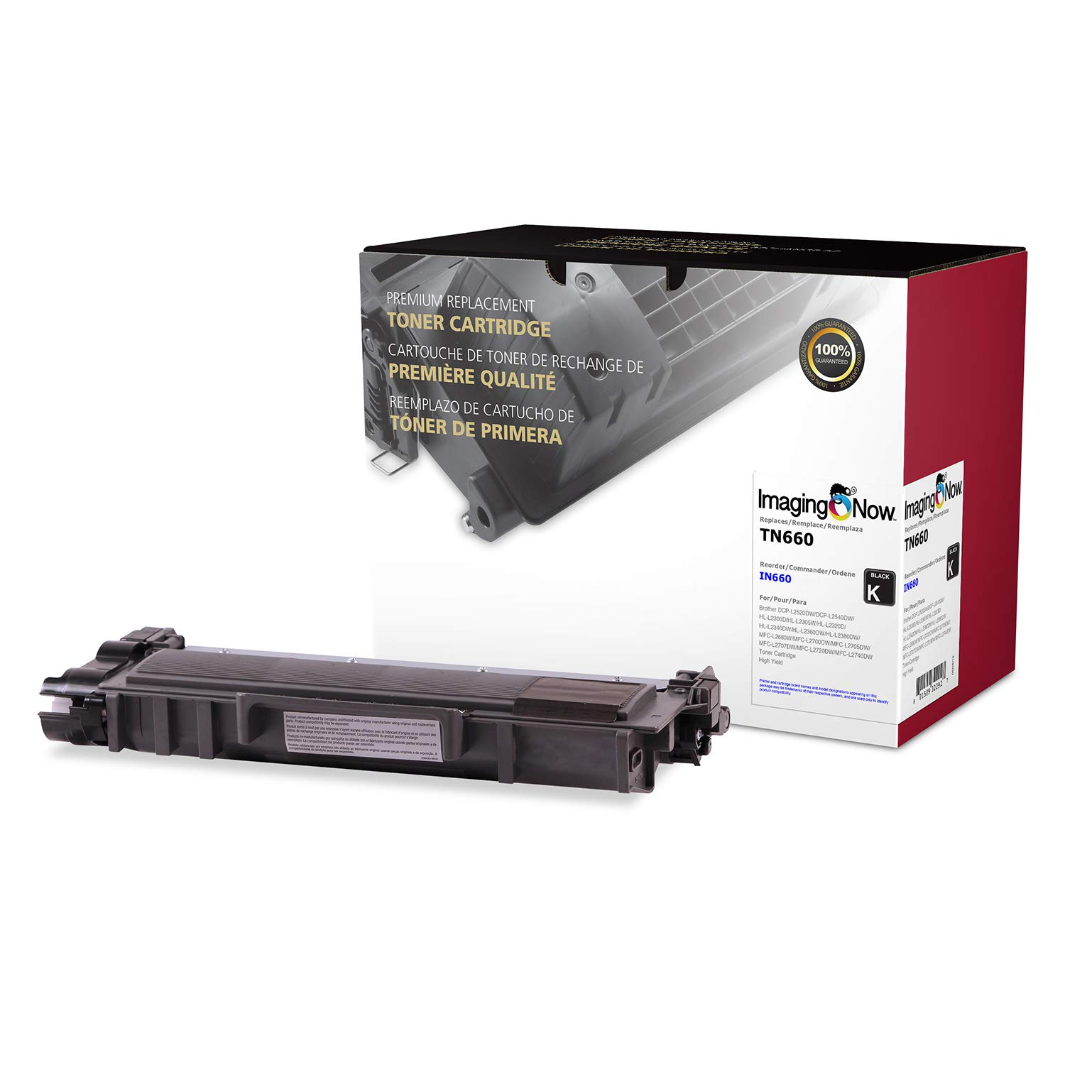 ImagingNow – Eco-Friendly OEM Toner Compatible with Brother TN-660 – Premium Cartridge Replacement
