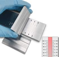 Fineness Gauge Grindometer Fineness of Grind Gauges Single-Channel Fineness Gauge (0~100um)