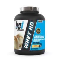 BPI Sports Whey HD Ultra Premium Protein Powder, Vanilla Caramel, 4.1 Pound
