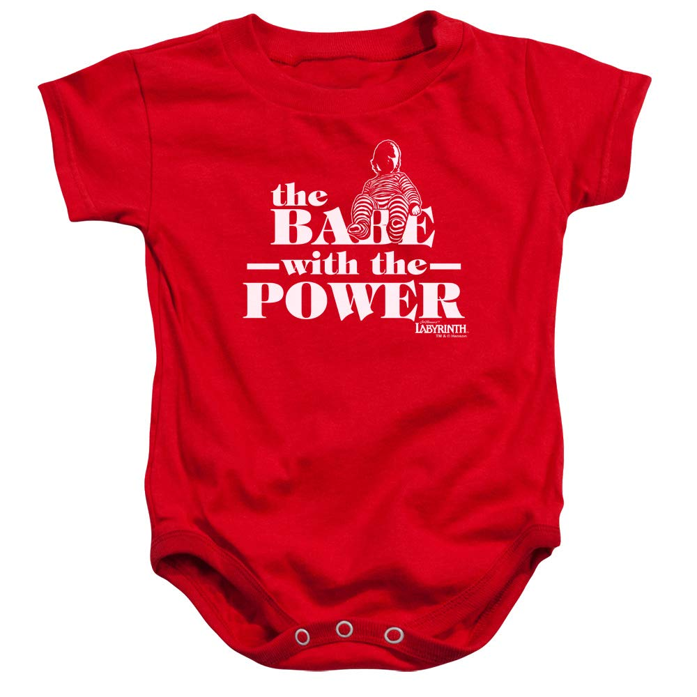 Labyrinth The Babe with The Power Baby Onesie Bodysuit
