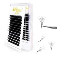 Rapid Volume Eyelash Extension 0.07 C Curl 10mm Easy Fan Rapid Blooming Lashes 3D 4D 5D 6D 10D 20D
