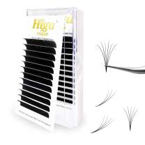 Rapid Volume Eyelash Extension 0.07 C Curl 14mm Easy Fan Rapid Blooming Lashes 3D 4D 5D 6D 10D 20D