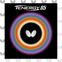 Butterfly Tenergy 05 Table Tennis Rubber | Butterfly Table Tennis Rubber | 1.7, 1.9, 2.1 Sizes | Red or Black | 1 Table Tennis Racket Rubber Sheet | Professional Table Tennis Rubber