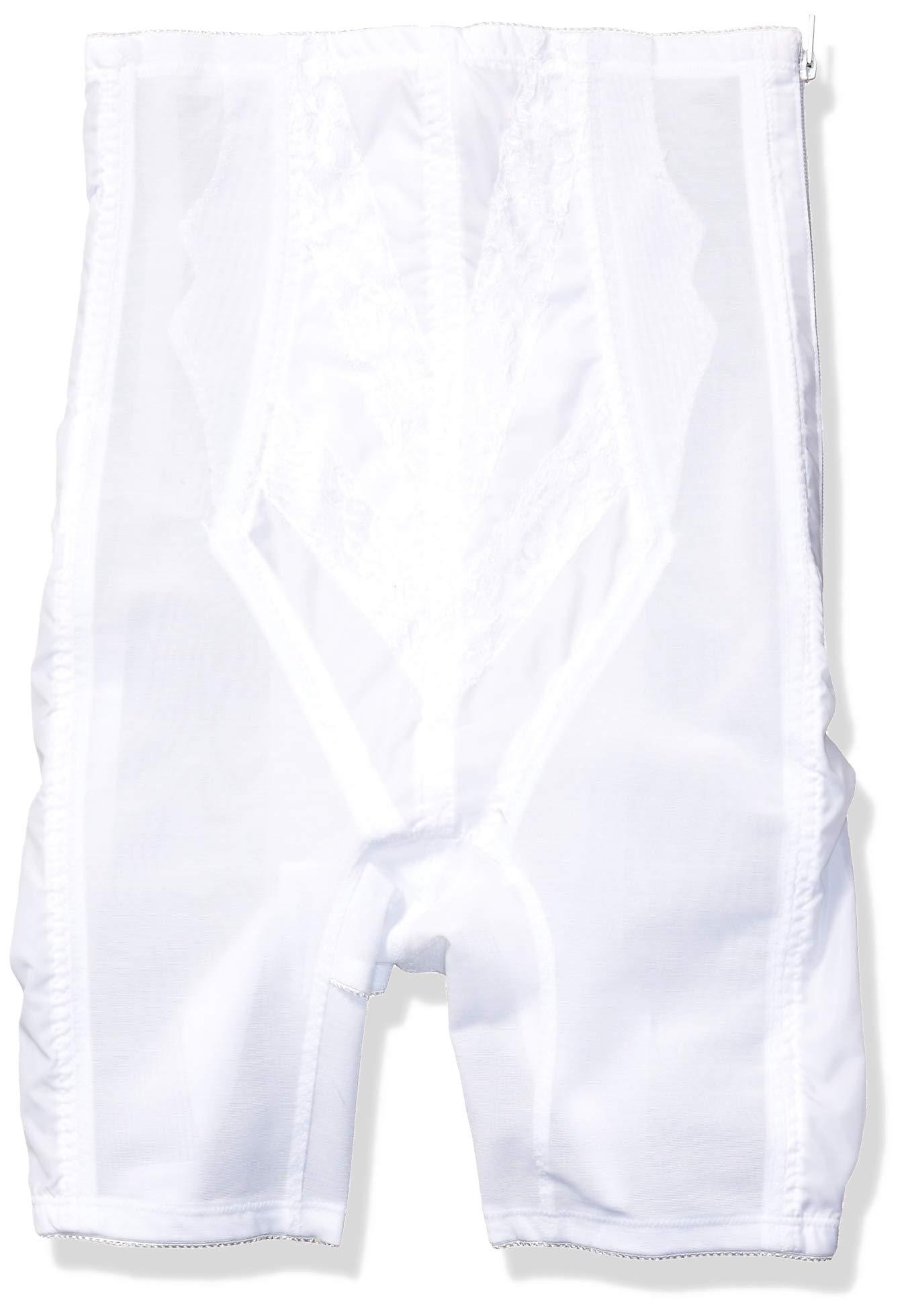 Rago Women's Extra Firm Zippered High Waist Long Leg Shaper