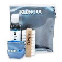 Sneaker Cleaner Brush/Cleaning Brush by KlenBlu - Premium Double Sided Wooden Shoe Care Brush Made with Nylon