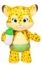 "Snap Toys Word Party - Franny 10"" Stuffed Plush Snuggle and Play Baby Cheetah with Bottle - from The Netflix Original Series - 18+ Months"