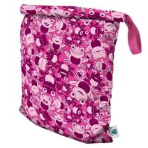 Planet Wise Roll Down Wet Diaper Bag, Hopping Holly, Large