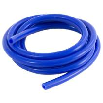 Ronteix Universal High Performance Vaccum Silicone Hose Tubing Line 5 Feet Length(6MM(1/4 Inch),Blue)