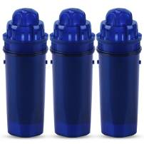 ICEPURE CRF-950Z Pitcher Water Filter Repacement for Pur CRF950Z, PPT700W, CR-1100C, DS-1800Z, CR-6000C, PPT711W, PPT711, PPT710W, PPT111W, PPT111R and More PUR Pitchers and Dispensers System (3PACK)