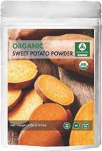 Naturevibe Botanicals Organic Sweet Potato Powder 4oz, Ipomoea Batatas | Non-GMO and Gluten Free Ipomoea Batatas | Non-GMO and Gluten Free | Supports Digestion and Weight Loss …