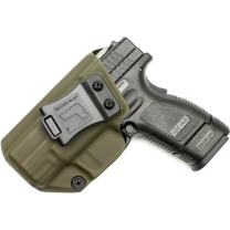 """Tulster IWB Profile Holster in Left Hand fits: Springfield Armory XD 3"""" 9mm/.40"""
