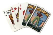 Minnesota - Paul Bunyan (Playing Card Deck - 52 Card Poker Size with Jokers)