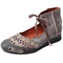 Mordenmiss Women's Summer Handmade Genuine Leather Sandal