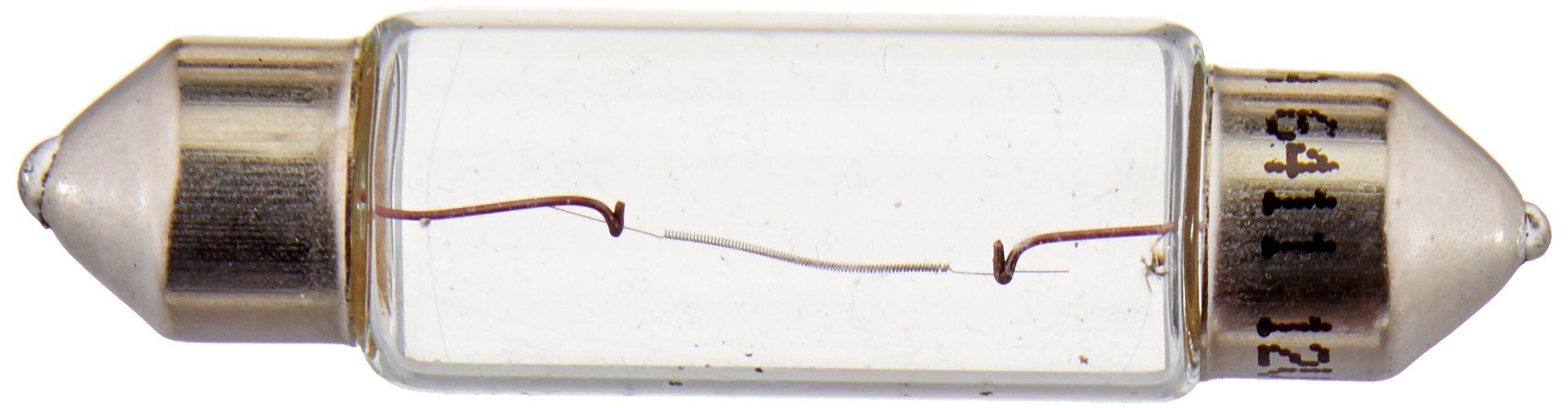 HELLA 6411TB Standard-10W Standard Miniature 6411 Bulbs, 12V, 10W, 2 Pack